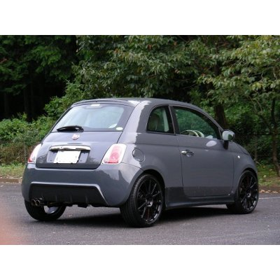 Photo2: TEZZO rear bumper equipped with diffuser for Fiat500 Series(15.01.31)