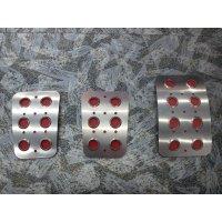 TEZZO Non-slip pedal mat (3 pieces) for Fiat500