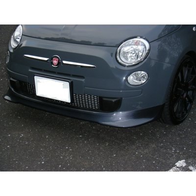 Photo3: TEZZO Chin Spoiler for Fiat500 Series(15.01.31)