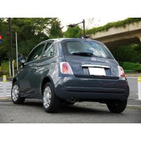 TEZZO city sports mufflerfor FIAT500 1.2