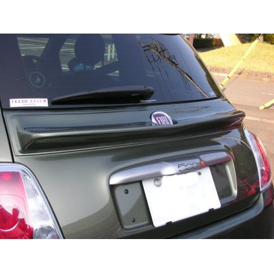 Photo1: TEZZO duck tail spoiler for Fiat500 Series (15.01.31)