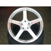 TEZZO aluminum wheel 5 spoke 19inch for VW Golf VII GTI(15.01.31 update)