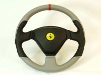 Vallelunga by TEZZO Steering wheel made from real leather 【AEROSPACE】 (15.01.31 update)
