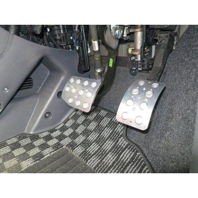 Photo3: TEZZO Non-slip pedal mat (2 pieces) for FIAT PANDA easy