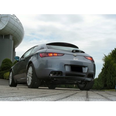 Photo1: TEZZO rear diffuser for Alfa Romeo Brera