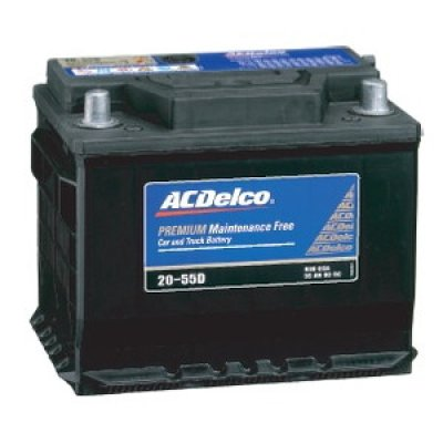 Photo1: AC Delco automotive battery for Alfa Romeo 159/Brera/Spider 2.2/3.2