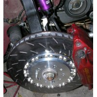 TEZZO PFC floating disc brake specialized for racing (for Alfa Romeo GT3.2)