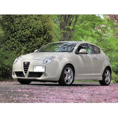 Photo4: TEZZO side skirts equipped with air duct for MiTo