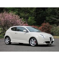 TEZZO side skirts equipped with air duct for MiTo