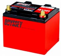 Odyssey automotive battery Ultimate LB1200 for Alfa Romeo 147/156/GT/147GTA/156GTA