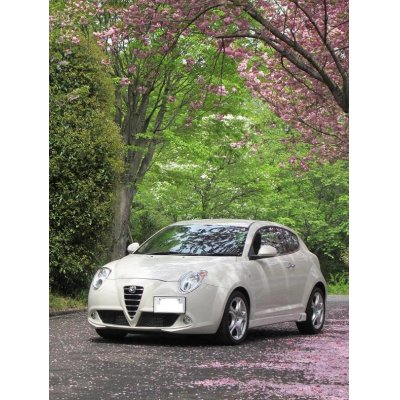 Photo3: TEZZO side skirts equipped with air duct for MiTo