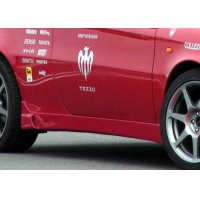 TEZZO side skirts equipped with air duct for Alfa Romeo 147