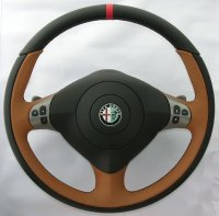 Vallelunga by TEZZO Steering wheel made from real leather 【Nardò】