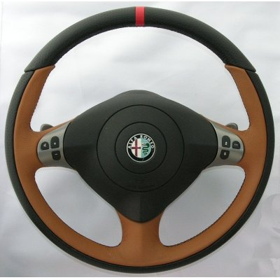 Photo1: Vallelunga by TEZZO Steering wheel made from real leather 【Nardò】