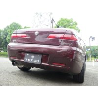 TEZZO sports muffler for Alfa156 JTS