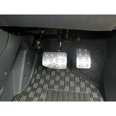 Photo2: TEZZO Non-slip pedal mat (2 pieces) for Alfa Romeo 156