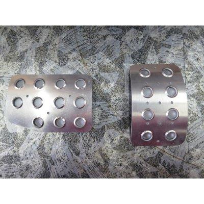 Photo1: TEZZO Non-slip pedal mat (2 pieces) for Alfa Romeo 156