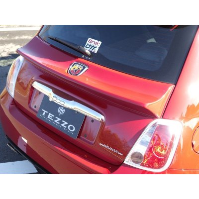 Photo3: TEZZO duck tail spoiler for Abarth500/595