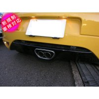 TEZZO sports muffler for Megane R.S.