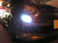 TEZZO LED front automotive lighting for Abarth500 series