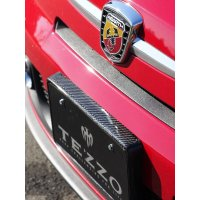 TEZZO carbon number plate for Abarth500/595