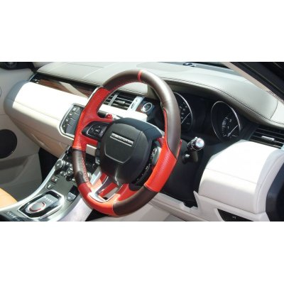 Photo3: Vallenlunga by TEZZO Steering wheel series made from real leather for Land rover Evoque