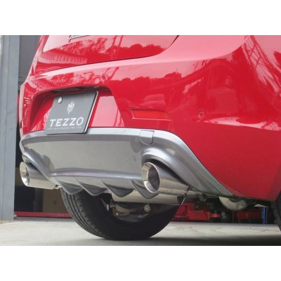Photo1: TEZZO rear Diffuser for Alfa Romeo Giulietta QV TCT (15.01.18 upadate)