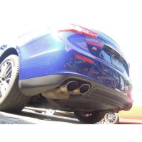 develeping TEZZO sports muffler for Maserati Ghibli