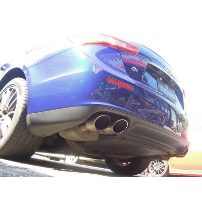Photo1: develeping TEZZO sports muffler for Maserati Ghibli