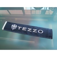 Real leather seat belt pad byTEZZO (Alkan tag)《17.08.28》