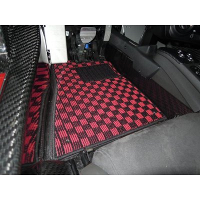 Photo2: 【Sail】【Left hand drive use】New TEZZO Style floor mat for Alfa 4c