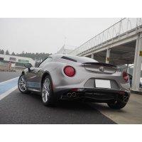 Alfa Romeo 4c carbon trunk spoiler ver2 by TEZZO