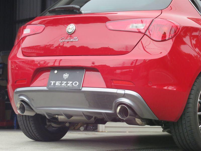 Tezzo Rear Diffuser For Alfa Romeo Giulietta Tezzo Style E